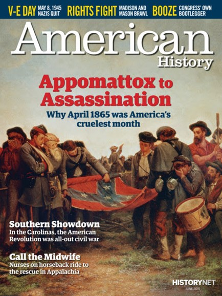 American History Cover - 6/1/2015