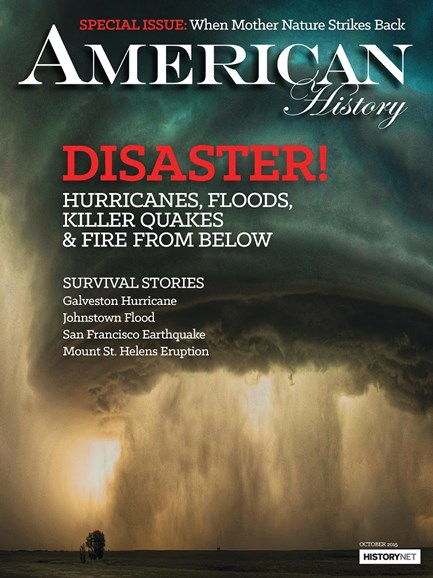 American History Cover - 10/1/2015