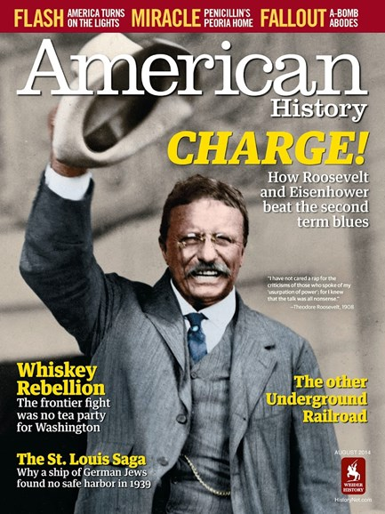 American History Cover - 8/1/2014