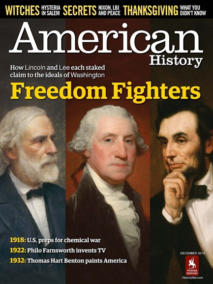 American History Cover - 12/1/2014