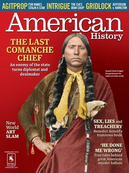 American History Cover - 2/1/2014