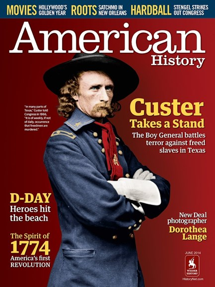 American History Cover - 6/1/2014