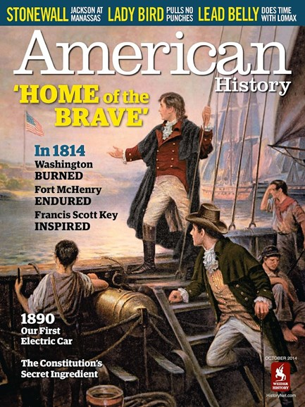American History Cover - 10/1/2014