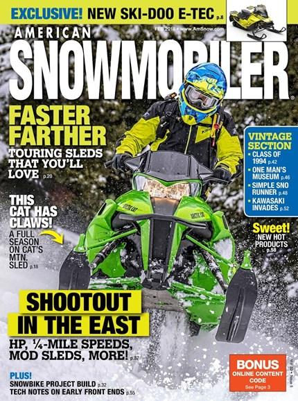 American Snowmobiler Cover - 2/1/2018