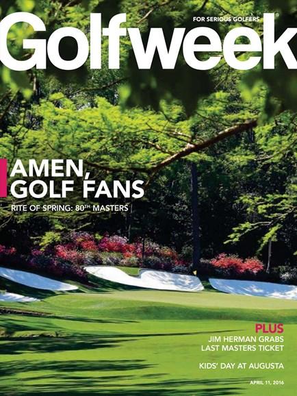 Golfweek Cover - 4/11/2016