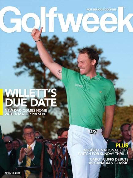 Golfweek Cover - 4/18/2016