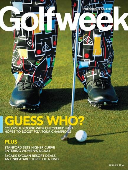 Golfweek Cover - 4/25/2016