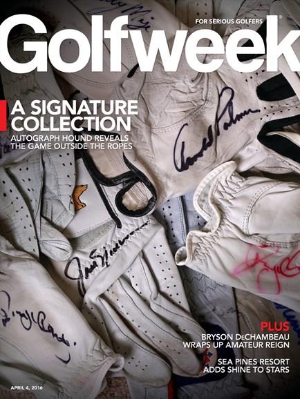 Golfweek Cover - 4/4/2016