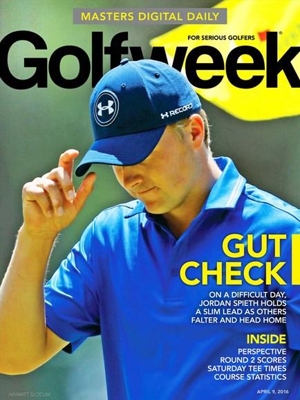 Golfweek Cover - 4/9/2016
