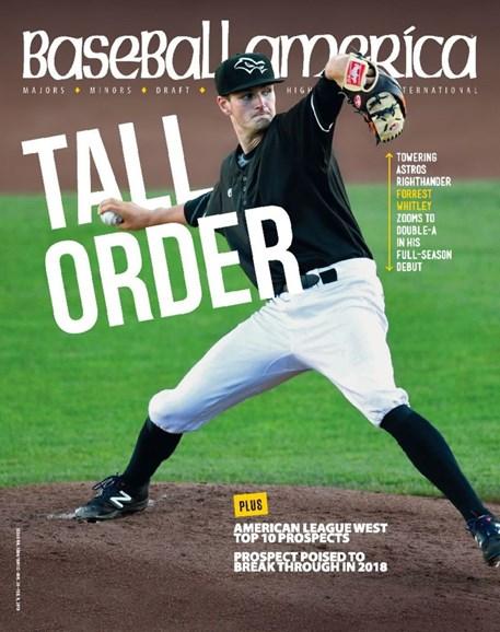 Baseball America Cover - 1/26/2018