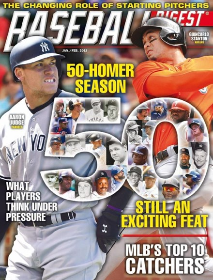 Baseball Digest Cover - 1/1/2018