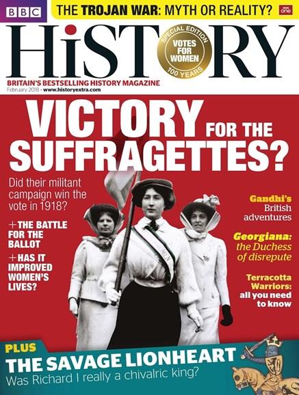 BBC History Cover - 2/1/2018