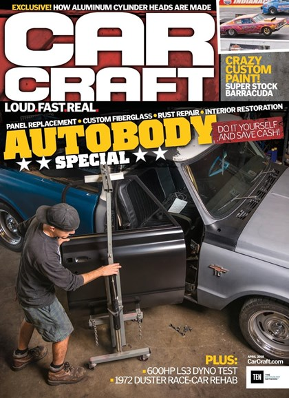 Car Craft Cover - 4/1/2018