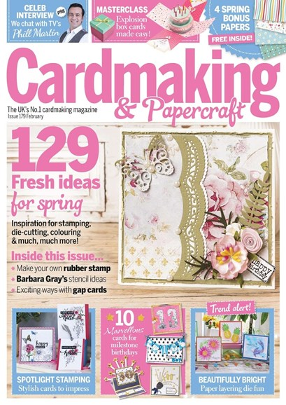CardMaking & PaperCrafts Cover - 2/1/2018