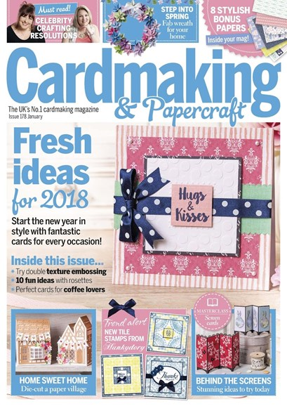 CardMaking & PaperCrafts Cover - 1/1/2018