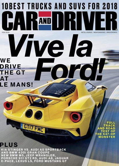Car And Driver Cover - 2/1/2018