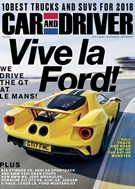 Car And Driver Magazine 2/1/2018