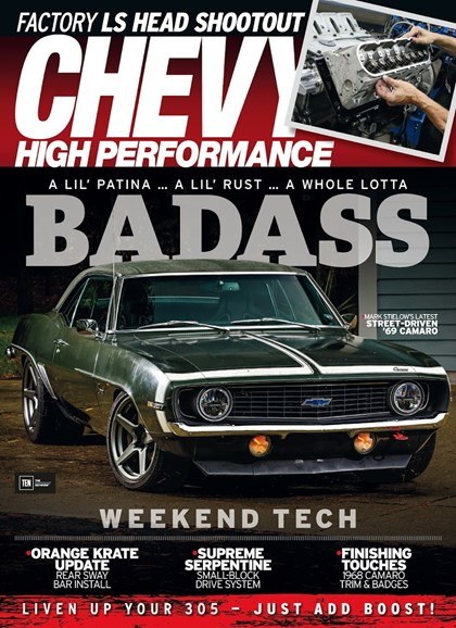 Chevy High Performance Cover - 4/1/2018