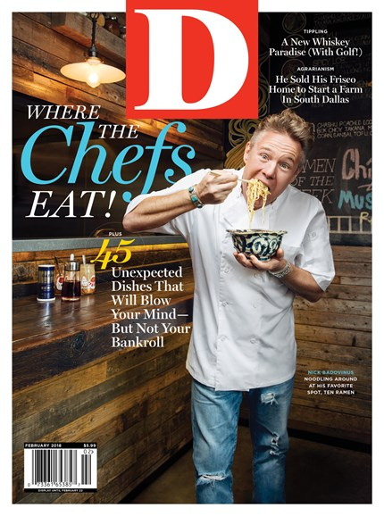 D Magazine Cover - 2/1/2018