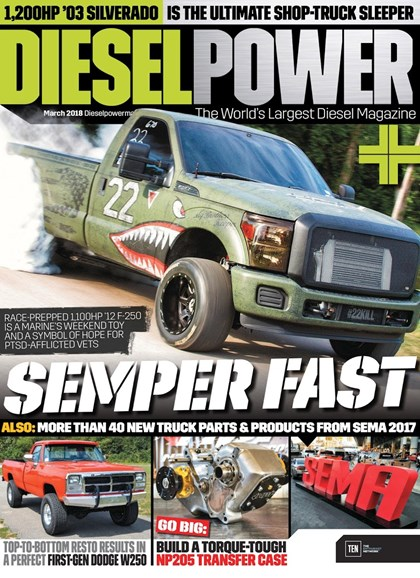 Diesel Power Cover - 3/1/2018