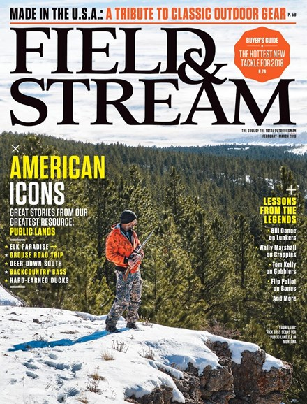 Field & Stream Cover - 2/1/2018