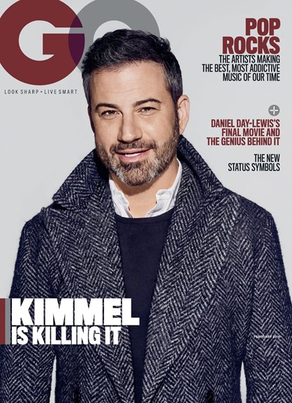 Gentlemen's Quarterly - GQ Cover - 2/1/2018