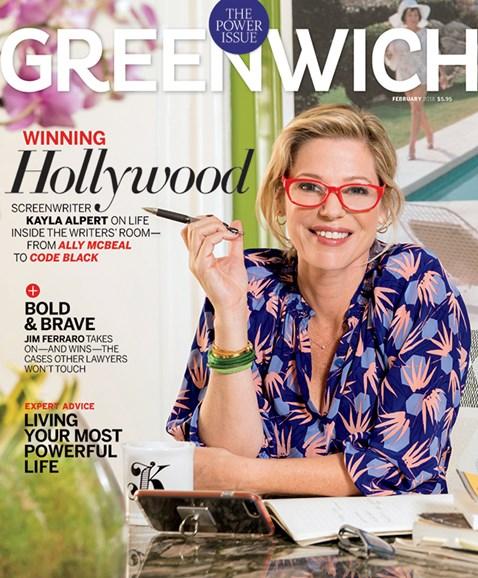 Greenwich Cover - 2/1/2018
