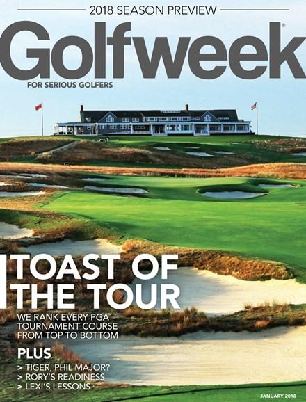 Golfweek Cover - 1/1/2018