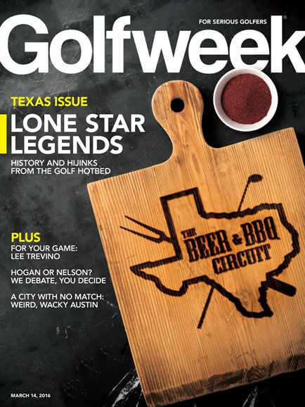 Golfweek Cover - 3/14/2016
