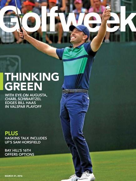 Golfweek Cover - 3/21/2016