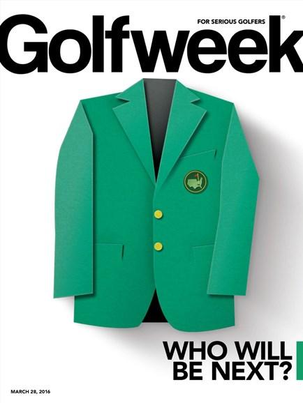Golfweek Cover - 2/28/2016