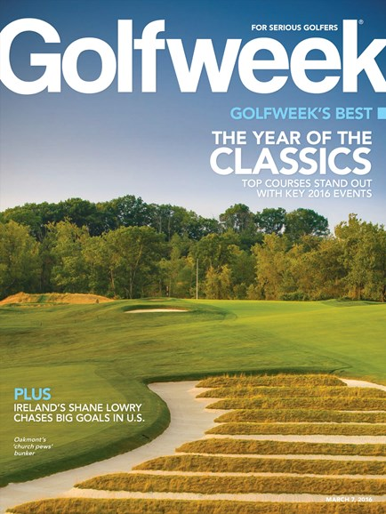 Golfweek Cover - 3/7/2016