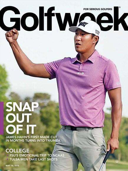 Golfweek Cover - 5/16/2016