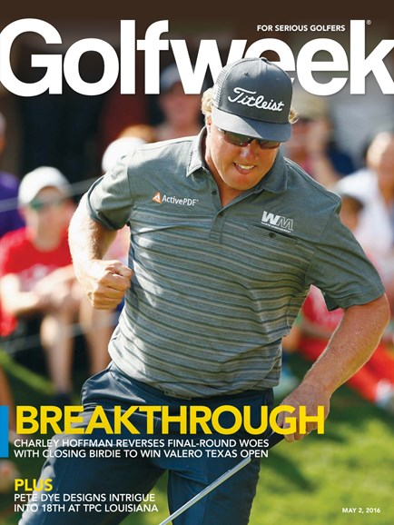 Golfweek Cover - 3/2/2016