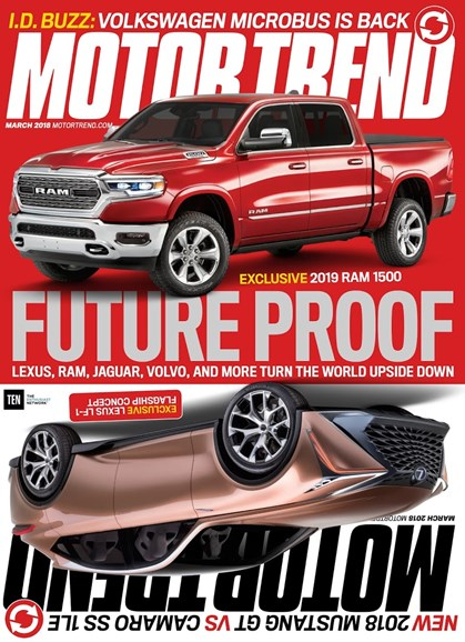 Motor Trend Cover - 3/1/2018