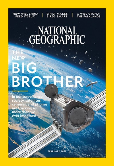 National Geographic Cover - 2/1/2018