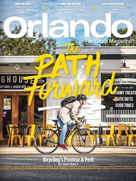 Orlando Magazine Cover - 2/1/2018