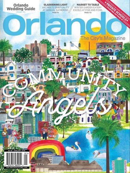 Orlando Magazine Cover - 1/1/2018