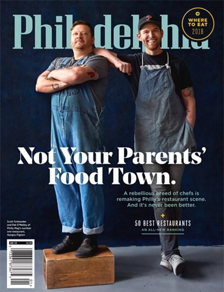 Philadelphia Magazine Cover - 1/1/2018