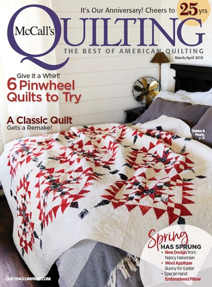 McCall's Quilting Cover - 3/1/2018
