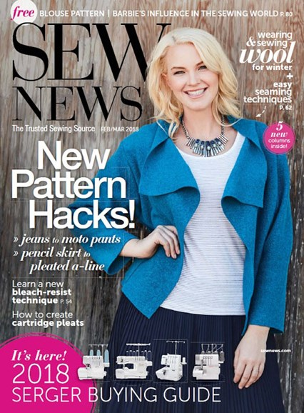 Sew News Cover - 2/1/2018