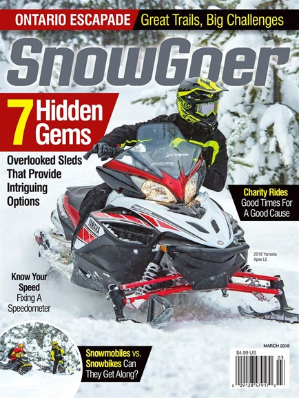Snow Goer Cover - 3/1/2018