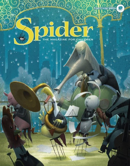 Spider Cover - 1/1/2018