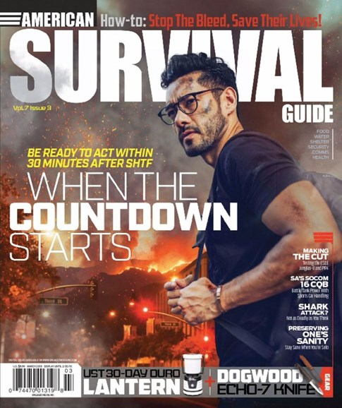 American Survival Guide Cover - 3/1/2018