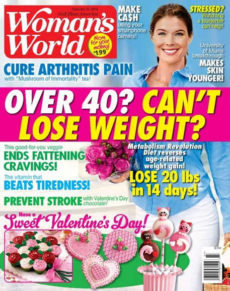 Woman's World Cover - 2/12/2018