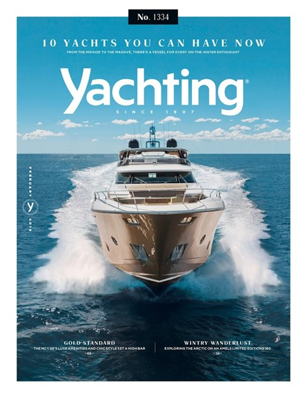 Yachting Cover - 2/1/2018