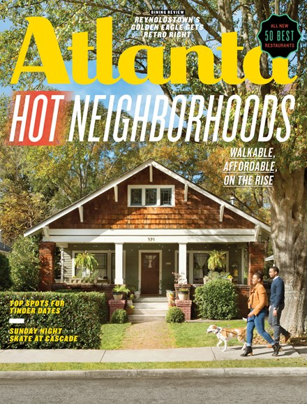 Atlanta Magazine Cover - 2/1/2018
