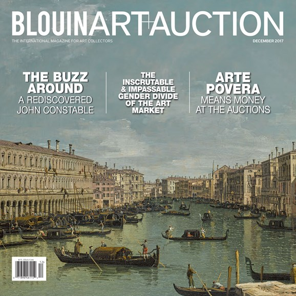 Blouin Art & Auction Cover - 12/1/2017