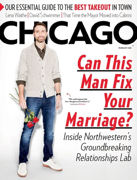 Chicago Magazine Cover - 2/1/2018