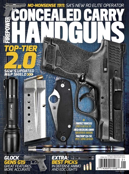 Concealed Carry Handguns Cover - 3/1/2018